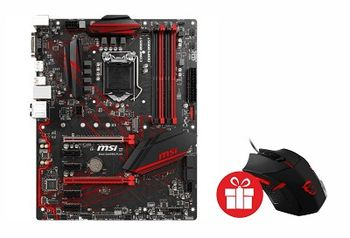 MSI B360 GAMING PLUS, Socket 1151, Intel® B360 (8th Gen CPU), Dual 4xDDR4-2666, 2xPCIe X16, CPU Intel graphics, DVI, DP, 5xSATA3, 1xM.2 slot, 4xPCIe X1, ALC892 7.1ch HDA, GbE LAN, 2xUSB3.1 Gen 2 (Type-C & Type-A), 4xUSB3.1, Mystic Light, ATX