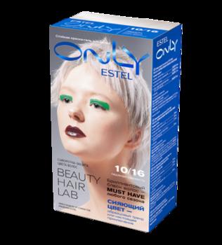 Vopsea p/u păr, ESTEL Only, 100 ml., 10/16 - Blond deschis cenușiu-violet