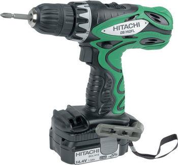 купить Аккумуляторная дрель-шуруповерт Hitachi DS14DFLTL в Кишинёве