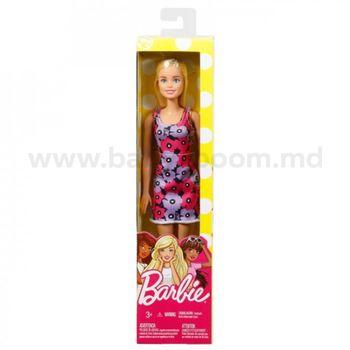 """Кукла Барби в платье с цветочным принтом """"Супер Стиль"""", код DTF41"""