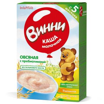 cumpără Vinni Terci Lapte cu ovăz și prebiotice 200g în Chișinău