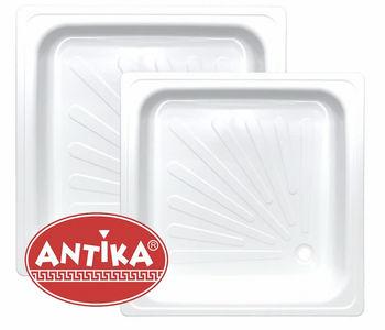 купить Поддон душевой стальной ANTIKA  90 * 90 * 15 см в Кишинёве