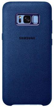 cumpără Husă telefon Samsung EF-XG955, Galaxy S8+, Alcantara Cover, Blue în Chișinău