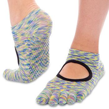 Носки для йоги с закрытыми пальцами р.36-41 FI0438 (полиэстер, хлопок) (2791)