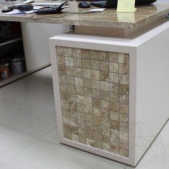 cumpără Mozaic Marmura Light Emperador Polisata 4.8 x 4.8 cm în Chișinău