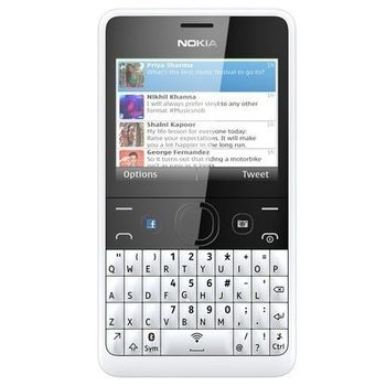 Nokia Asha 210 2 SIM (DUAL) White