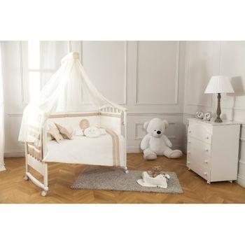 купить Комплект постельного белья Special Baby Teddy Ivory (3 ед.) в Кишинёве