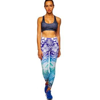 Леггинсы для фитнеса и йоги XL BK77 (4732)