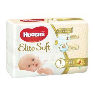 cumpără Scutece Huggies Elite soft (<5 kg) 27 buc în Chișinău