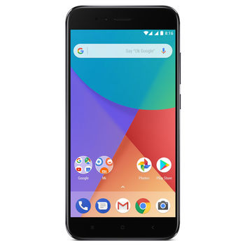 купить Xiaomi MI A1 4+32Gb Duos, Black в Кишинёве