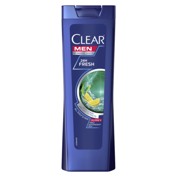 Шампунь против перхоти Clear 24 Hour Fresh, 400 мл