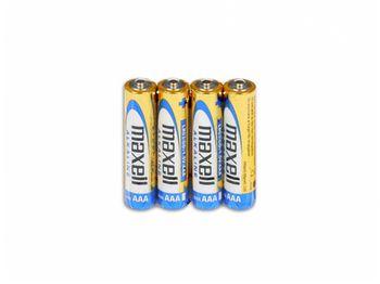 купить MAXELL Alcaline Battery  LR03/AAA, 4pcs, Shrink pack в Кишинёве
