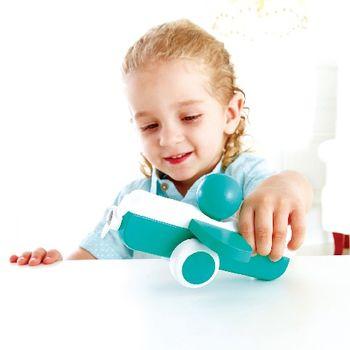 купить Hape Деревянная игрушка Голубой Самолетик в Кишинёве
