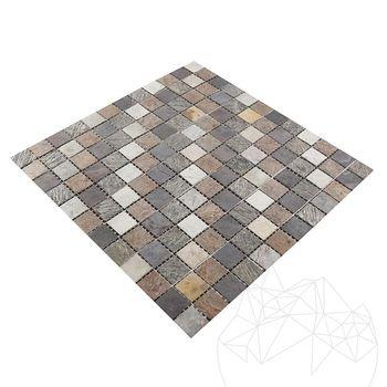 cumpără Mozaic Ardezie Flexibila SKIN - Multicolora 2 x 2 cm în Chișinău