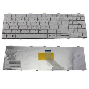 Keyboard Fujitsu Lifebook  AH530 AH531 AH512 NH751 A531 A530 A512 AH502 ENG. White