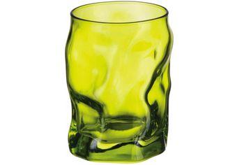 Набор стаканов для воды Sorgente 3шт, 300ml, салатовые