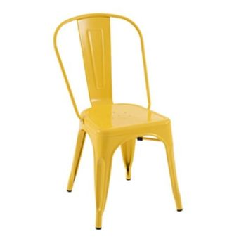 купить Металлический стул 530x480x1250 мм, желтый (P0681) в Кишинёве