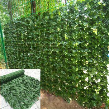 Leaf fence ivy