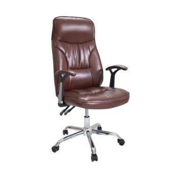 Офисное кресло 6734 коричневое