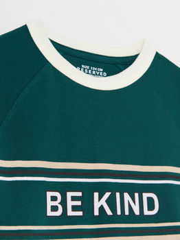 Tricou RESERVED Verde inchis wq557-79x
