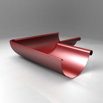 купить Угловой стык внутренний 90º Scandic (125 mm)  Цвет - Бордовый в Кишинёве