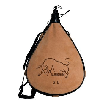 купить Бурдюк прямой Laken Leather Canteen Straight Form 2,0 L, PK2000-R в Кишинёве