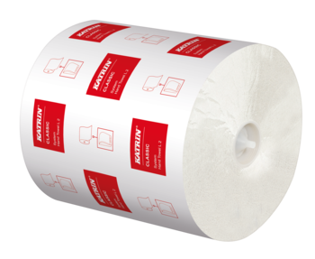 CLASIC SYS L Бумажные полотенца белые 2 слоя 200 м