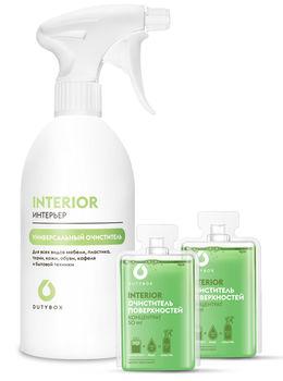 DUTYBOX INTERIOR Set– Curățător universal pentru orice suprafețe cu aromă de fructe