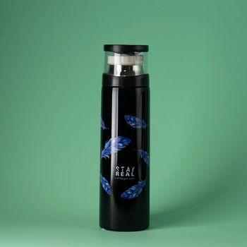 Бутылка-термос 350 мл Leaves (4165)