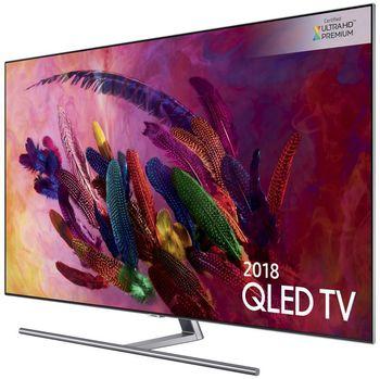 cumpără TV QLED Samsung QE75Q7FN, Titanium Gray în Chișinău