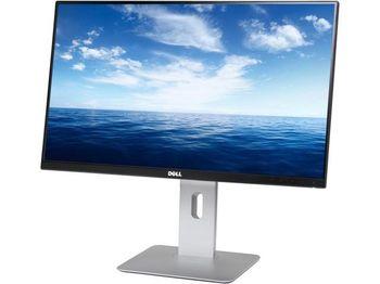 """24.1"""" DELL IPS LED U2415 Borderless (6ms, 2M:1, 300cd, 1920x1200, 2xHDMI , Mini DisplayPort, DisplayPort, Height Adjustment, Pivot, USB 3.0, VESA)"""