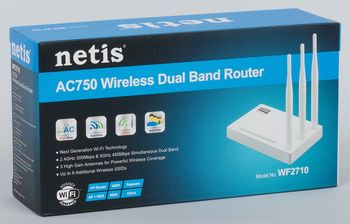 "Wireless Router Netis ""WF2710"""