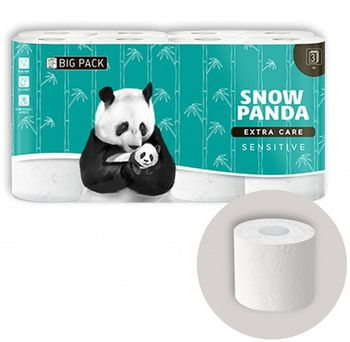 Туалетная бумага PANDA ExtraCare Sevsitive 3 слоя 20.8м*16