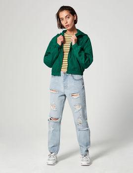 Куртка Jennyfer Зеленый