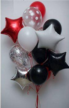 купить Набор шаров «White dots» в Кишинёве