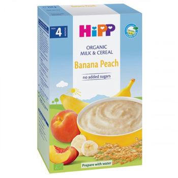 cumpără Hipp terci din orez, grîu cu lapte, banană și piersici, 4+ luni, 250 g în Chișinău