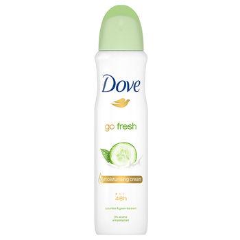 Антиперспирант Dove Go Fresh с ароматом огурца и зеленого чая, 150 мл