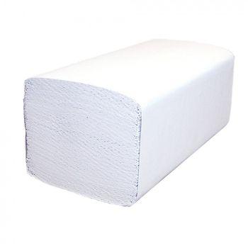Бумажные полотенца V укл. белые 1 слой 250 листов