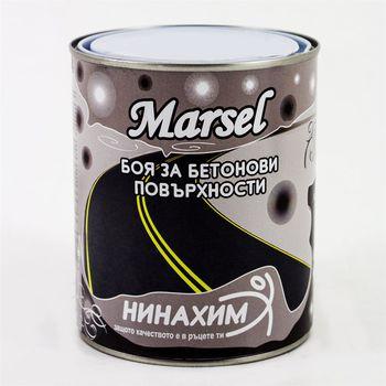 Нинахим Краска Marsel для асфальта и бетона Белая 1кг