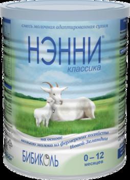 купить Молочная смесь на основе козьего молока Нэнни Классика, 400г в Кишинёве