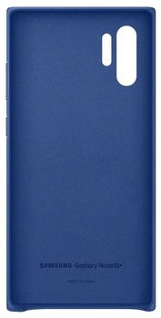 купить Чехол для моб.устройства Samsung Galaxy Note 10 Plus ,EF-VN975 Leather Cover Blue в Кишинёве