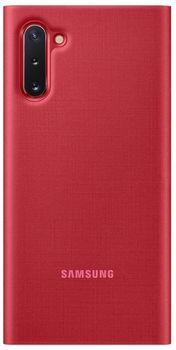 купить Чехол для моб.устройства Samsung Galaxy Note 10 ,EF-NN970 LED View Cover Red в Кишинёве
