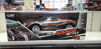 "Машина 1:10 на радиоуправлении ""Savage"", код 23136"