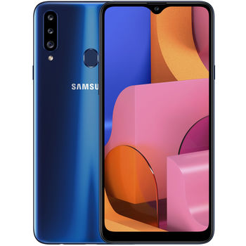 cumpără Samsung Galaxy A20s 2019 3/32Gb Duos (SM-A207),Blue în Chișinău