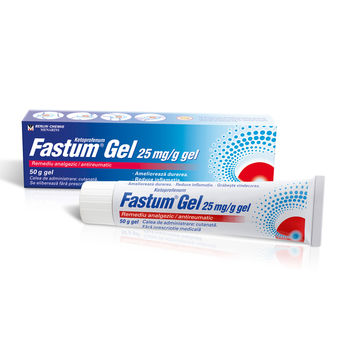 cumpără Fastum Gel 2.5% 50g gel în Chișinău