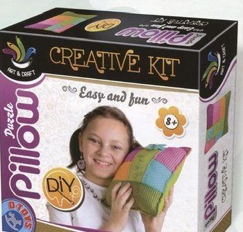 Set pentru creativitate Puzzle, pernă, cod 41294