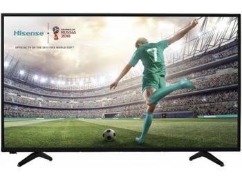 """43"""" LED TV Hisense H43B5600, Black"""