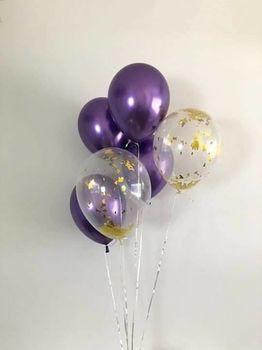 купить Набор шаров «Lilac Chrome» в Кишинёве