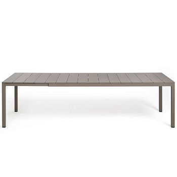 Стол металлический раздвижной Nardi RIO ALU 210 EXTENSIBLE vern. tortora vern. tortora 48859.10.000 (Стол металлический раздвижной для сада и террасы)