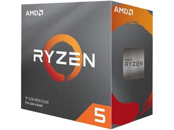 AMD Ryzen 5 3600X, Socket AM4, 3.8-4.4GHz (6C/12T), 32MB Cache L3, 7nm 95W, Box (with Wraith Spire Cooler)